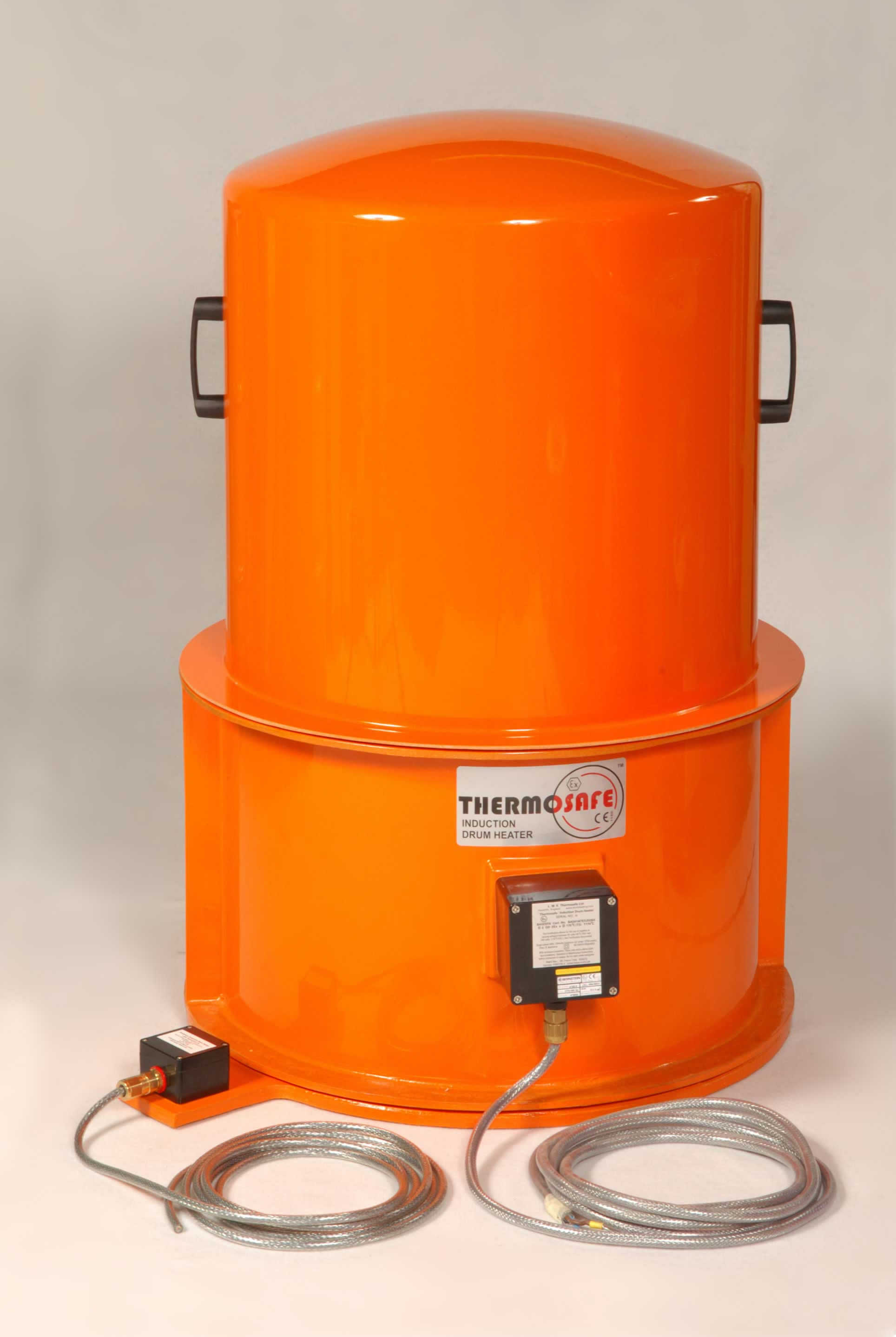 Drum Base Heater with Type B Thermosafe & Top Hat Mini Oven