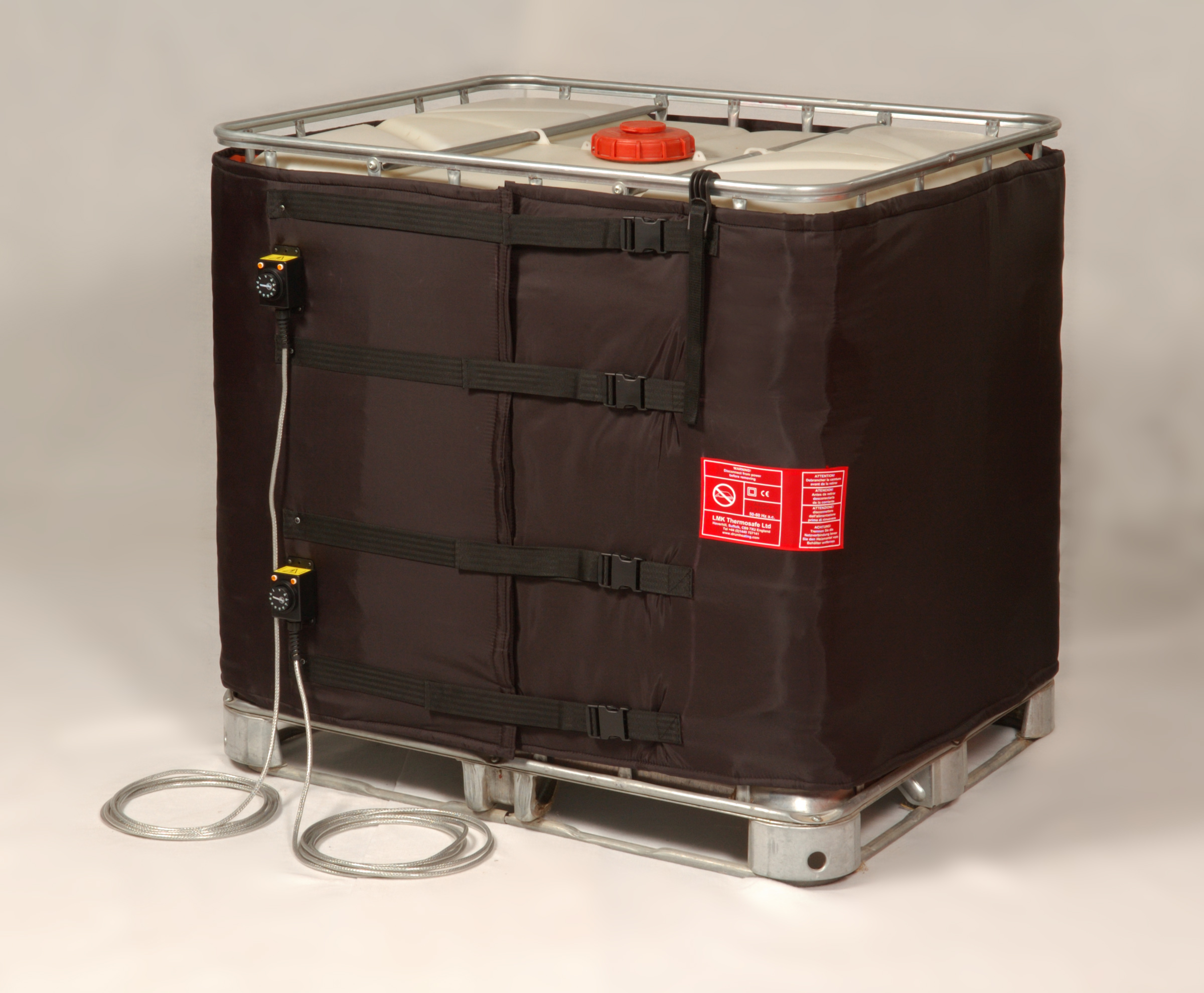 Flexible jacket for 1000 litre Schutz IBC's and Totes